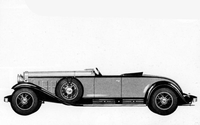 V16: Cadillac (1930)