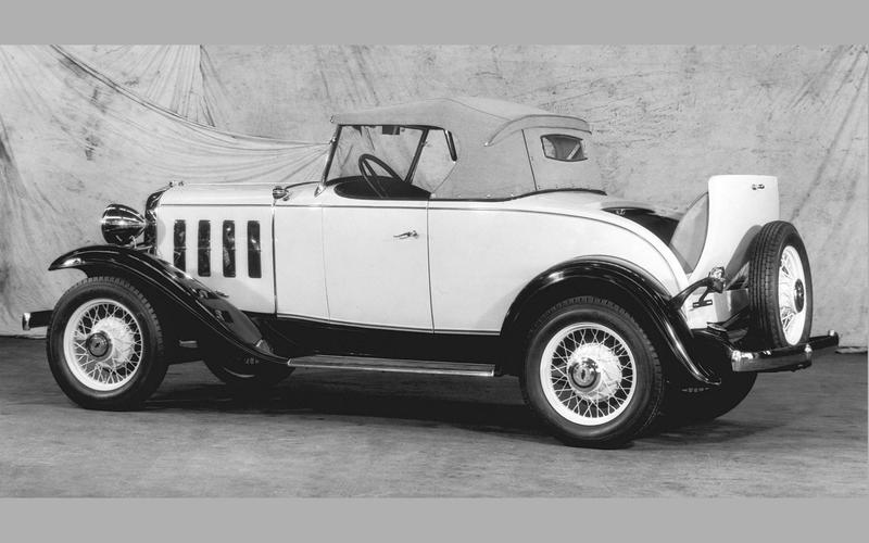 METALLIC PAINT: Chevrolet (1932)