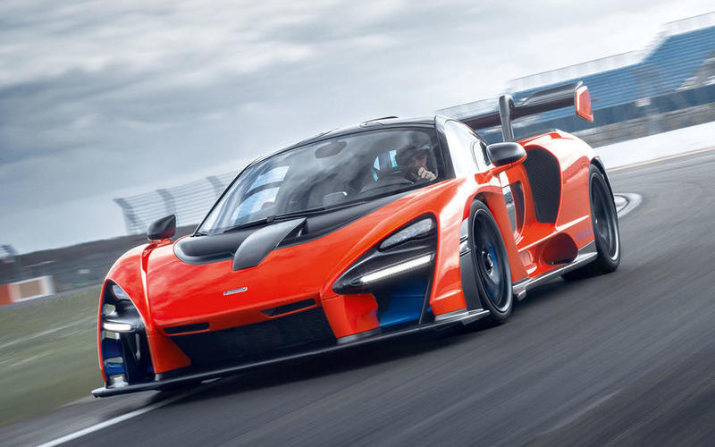 McLaren Senna (2018-Present) - 211mph (Estimated)