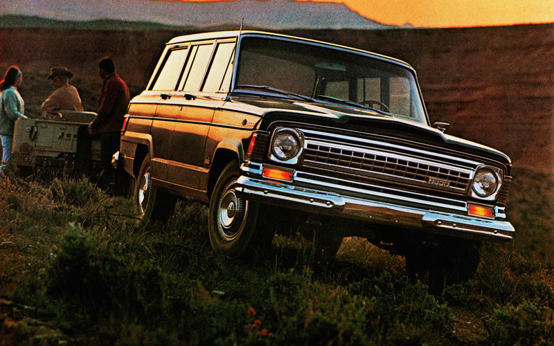 25: Jeep Wagoneer/Grand Wagoneer (1963-1991) – 28 YEARS