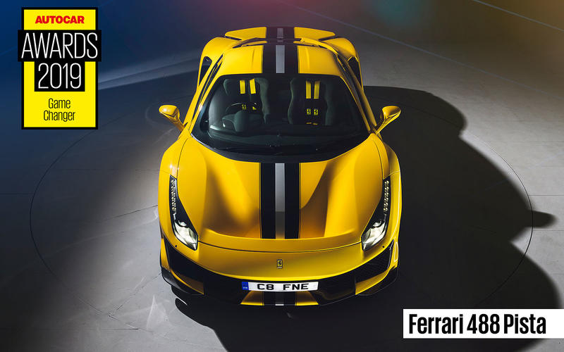 GAMECHANGER: Ferrari 488 Pista