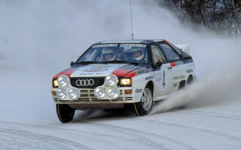 World Rally debut