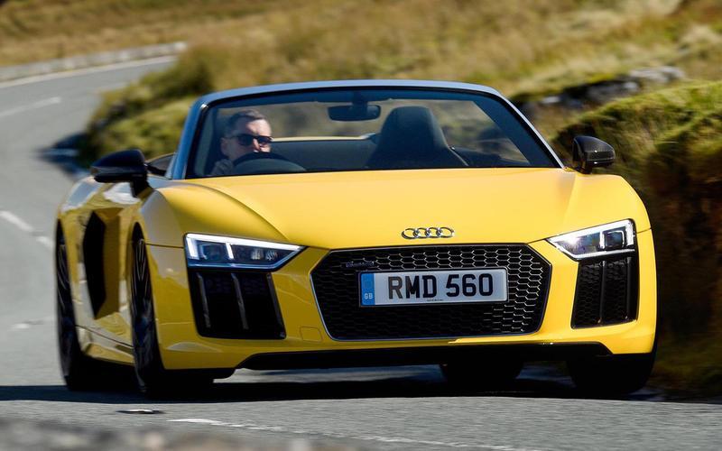 14: Audi R8 Spyder