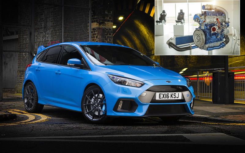 Ford Focus RS: 152.6bhp/litre