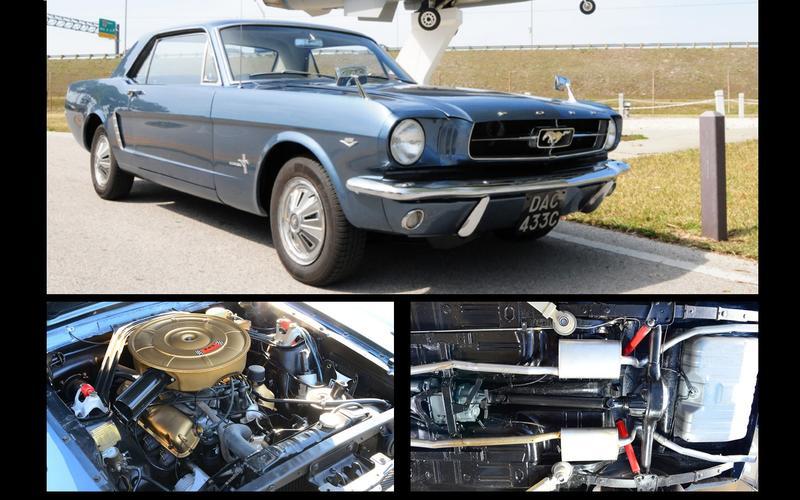 Four-wheel drive Mustang (1966)