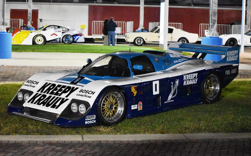 March 84G Porsche Kreepy Krauly (1984)