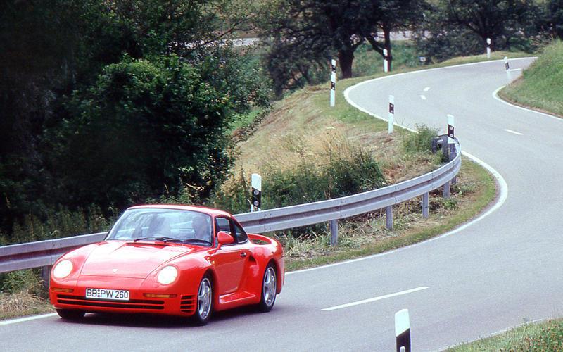 1978-1988: Porsche 959 (1987)