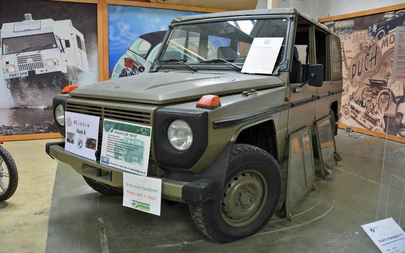Puch 230G prototype (1978)