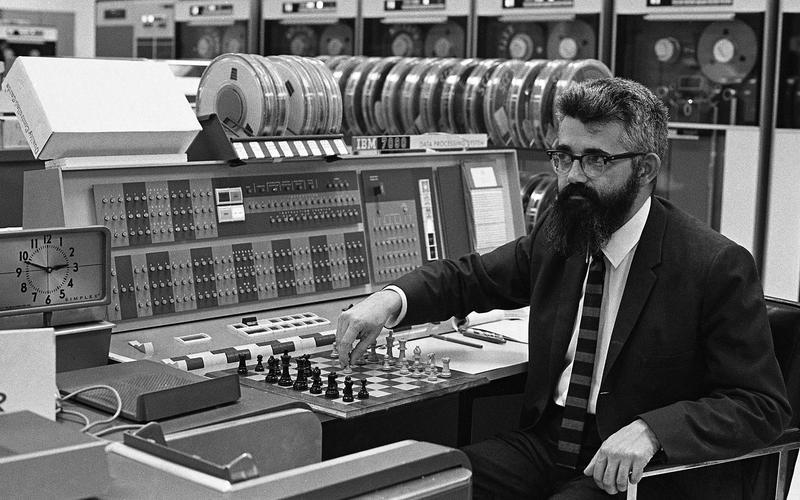 John McCarthy's computer-controlled cars (1969)