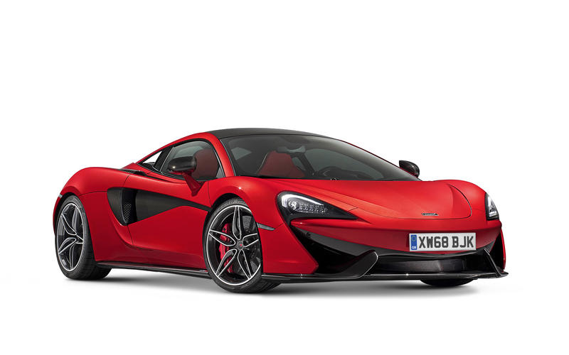BEST BUY - MORE THAN £60,000 - McLaren 570S Coupé