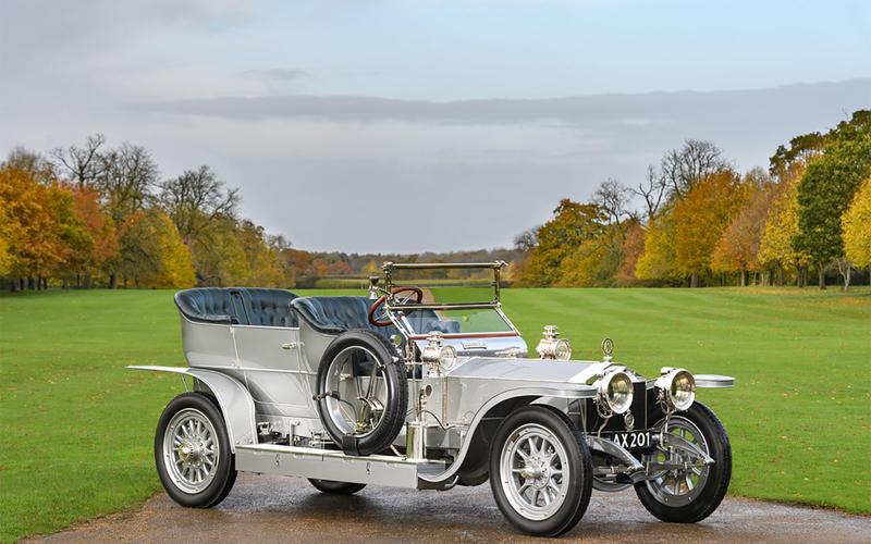 17 1906 Rolls-Royce 40/50 Silver Ghost