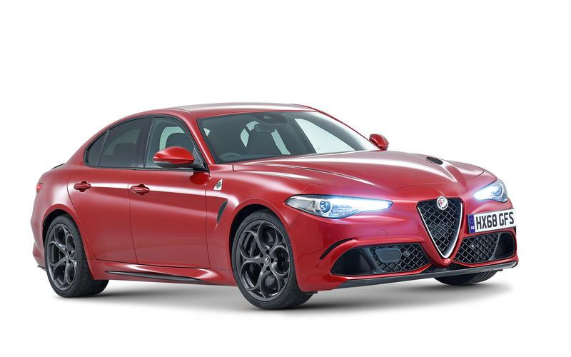 BEST BUY - £50,000-£80,000 - Alfa Romeo Giulia Quadrifoglio 2.9 V6 Bi-Turbo 510