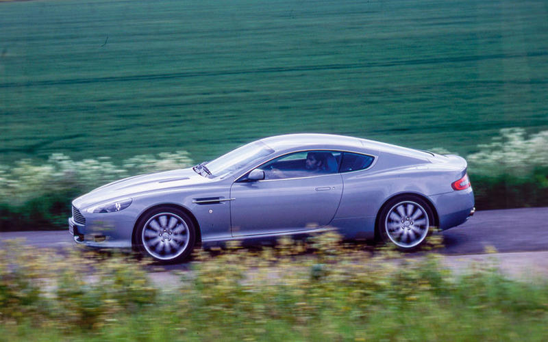 17. 2004 Aston Martin DB9 - NEW ENTRY