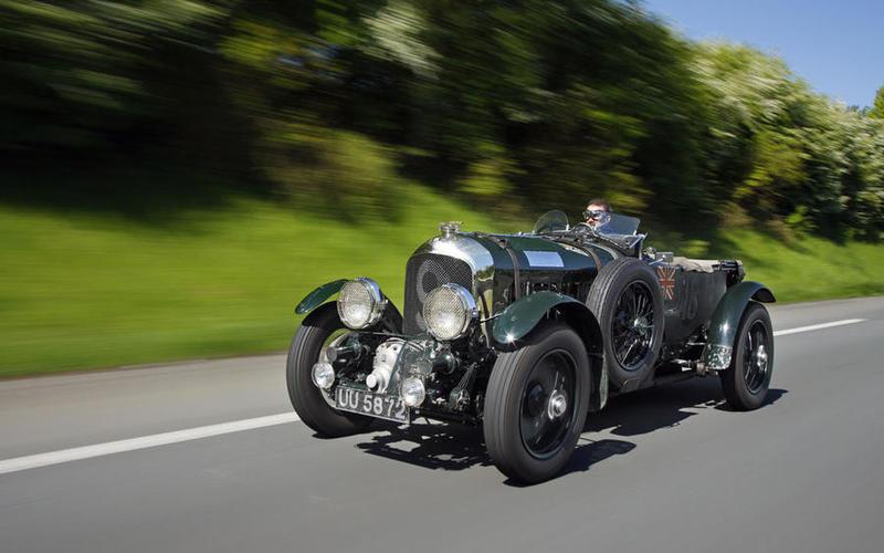 10 1929 Bentley Blower