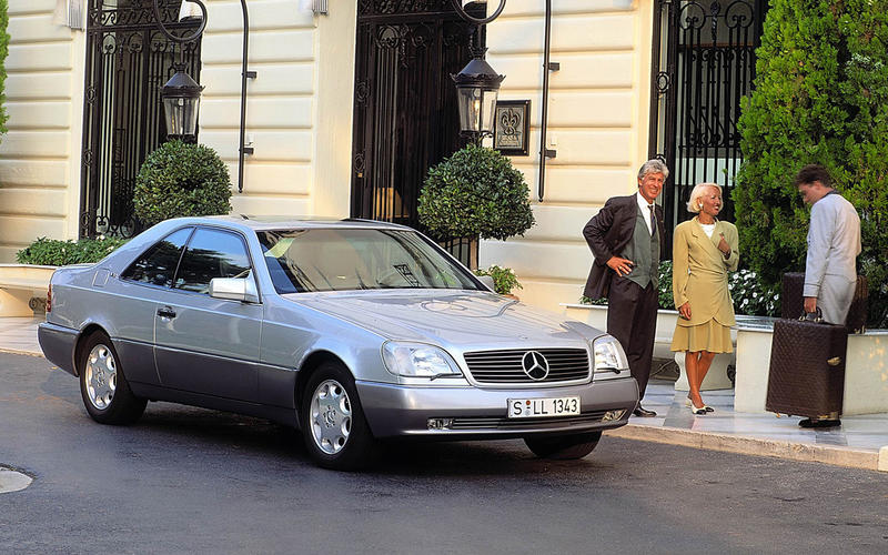 ELECTRONIC STABILITY CONTROL: Mercedes-Benz CL600 (1995)