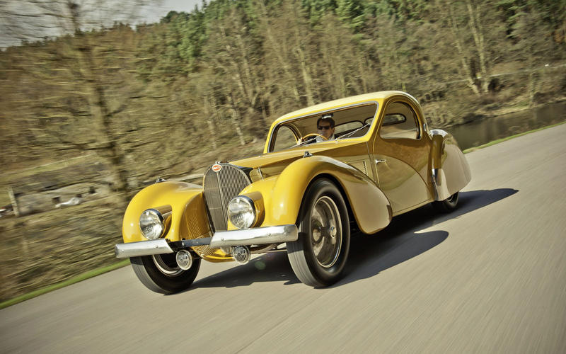12. 1938 Bugatti Type 57 Atlantic
