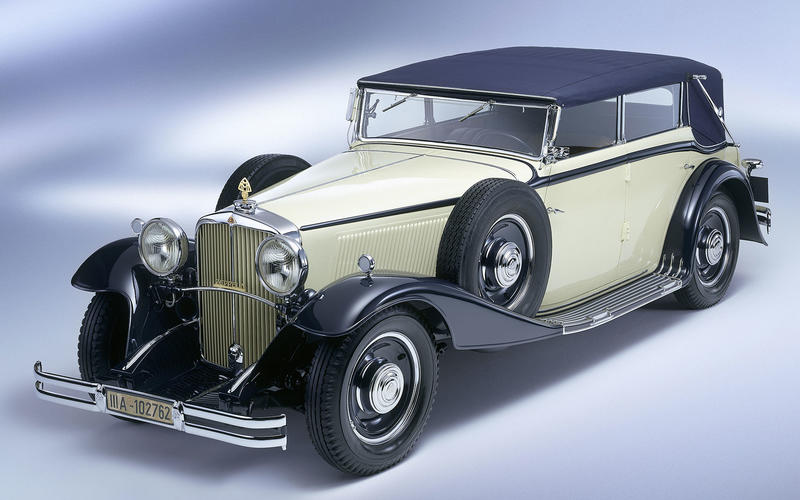8-SPEED MANUAL: Maybach DS8 (1931)