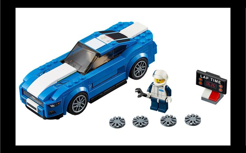 Ford Mustang GT (Speed Champions set #75871, US$52/£50)