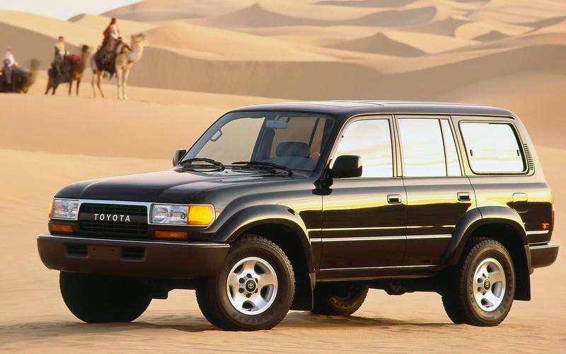 Toyota Land Cruiser (J80, 1989)