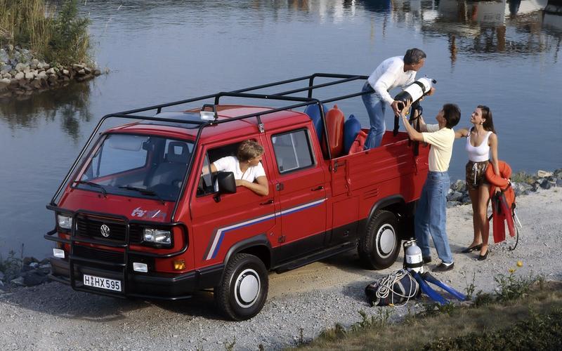 Volkswagen Transporter pickup (1979)