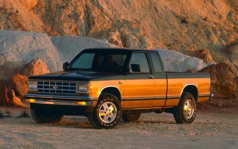 Chevrolet S10/GMC S15, first generation (1981)