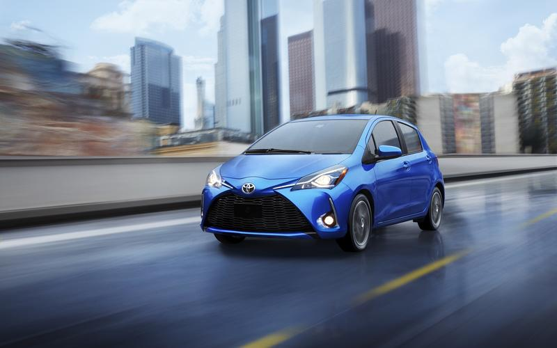 Toyota Yaris – 2315lb (1052kg)