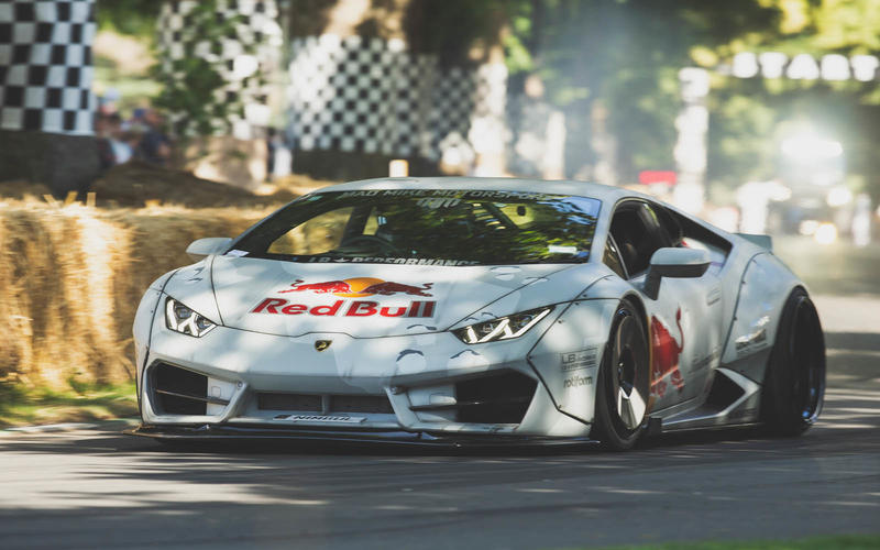 Supercars can be drift-spec too