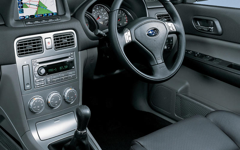 Subaru Forester XT Turbo - interior