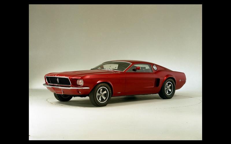 Mustang Mach 1 concept (1966)
