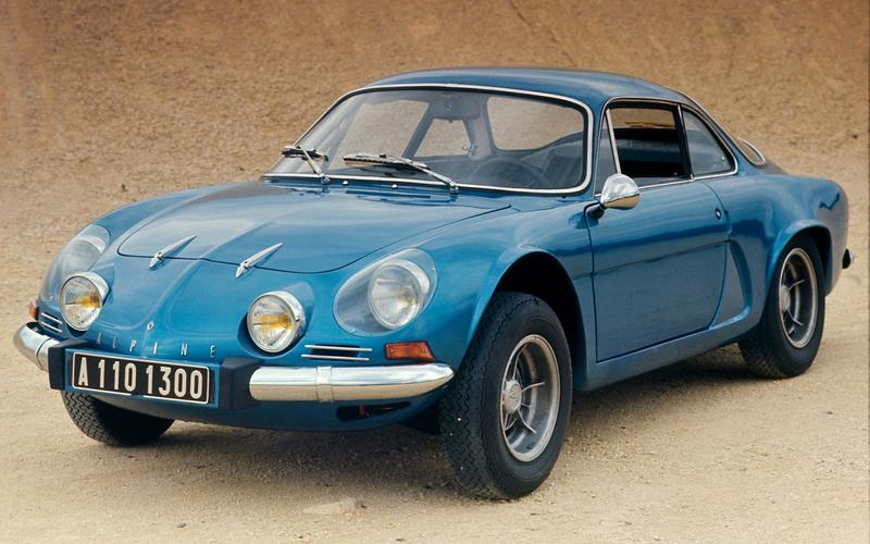 Giovanni Michelotti's hit: 1961 Alpine A110