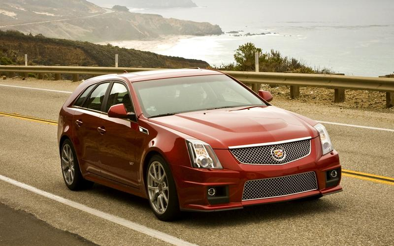Cadillac CTS-V Sport Wagon show car (2010)