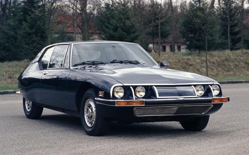 Citroën's entire line-up (1974)