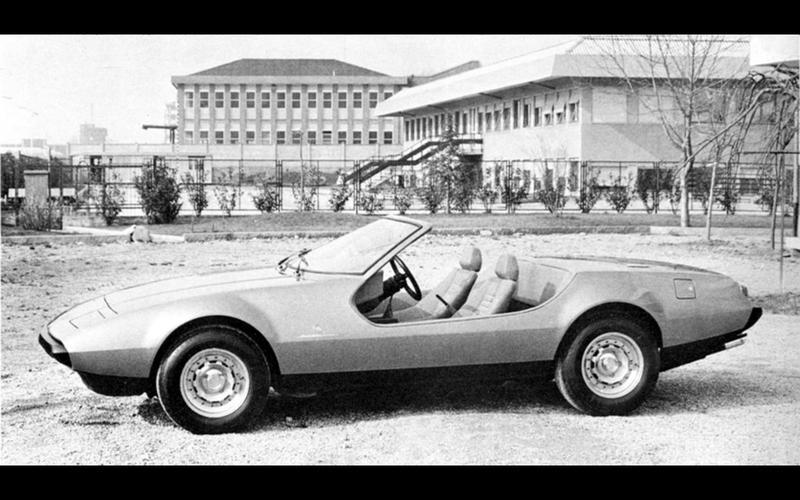 Ferrari 365 GTC/4 Beach Car