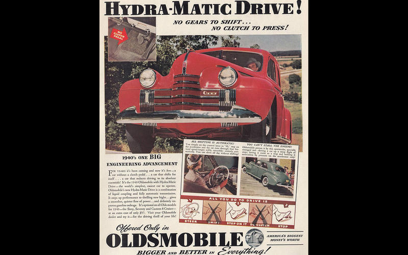 AUTOMATIC GEARBOX: Oldsmobile (1939)