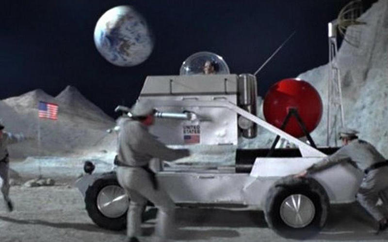 2. Lunar Buggy (Diamonds Are Forever, 1971)
