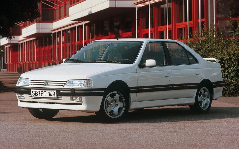 11: Peugeot 405 (1989)