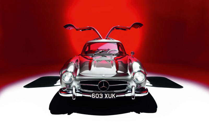 10. 1954 Mercedes 300SL Gullwing
