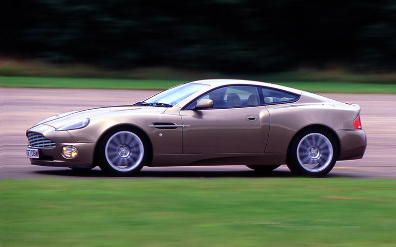 9. 2001 Aston Martin Vanquish