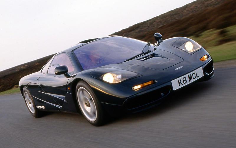 4 1992 McLaren F1