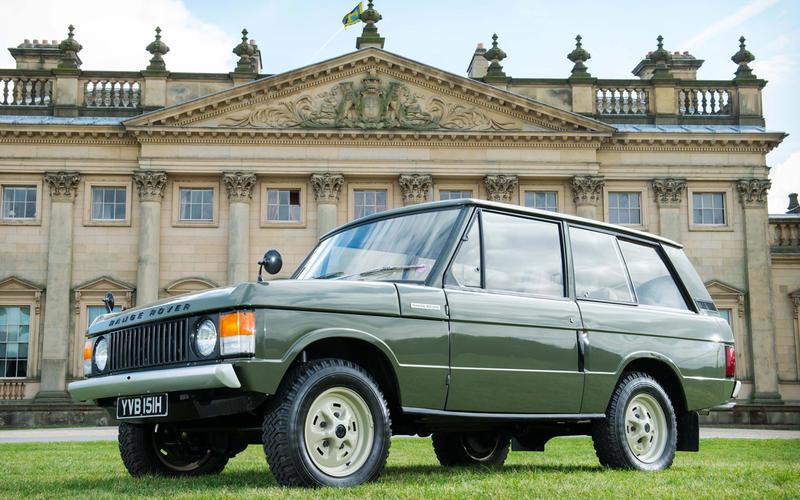 3 1970 Range Rover