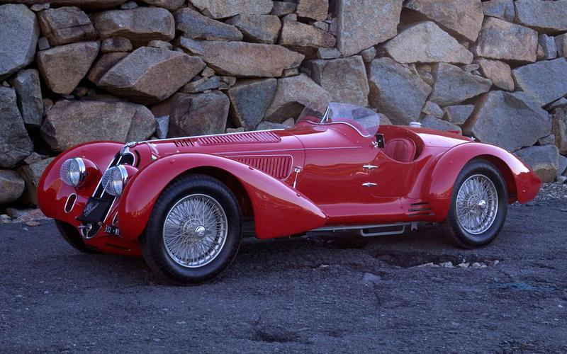 6. 1935 Alfa Romeo 8C 2900