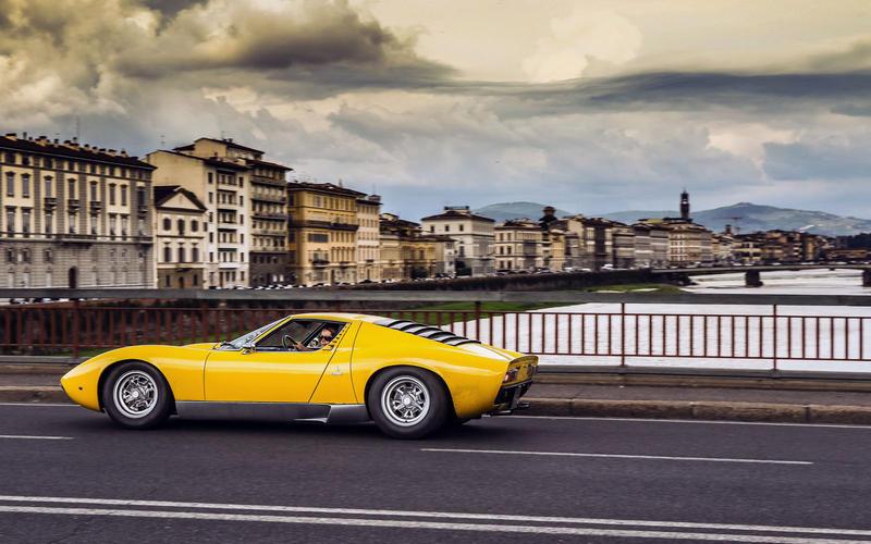 2. 1970 Lamborghini Miura (NO CHANGE)
