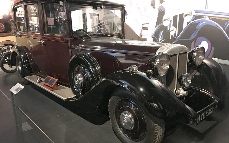 Queen Mary's Royal Car (1935)