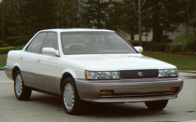 Lexus' global debut (1989)