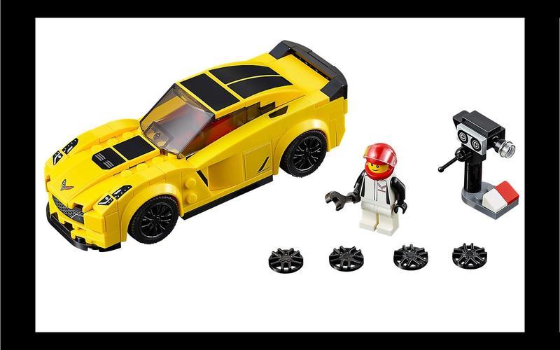 Chevrolet Corvette Z06 (Speed Champions set #75870, US$54/£43)