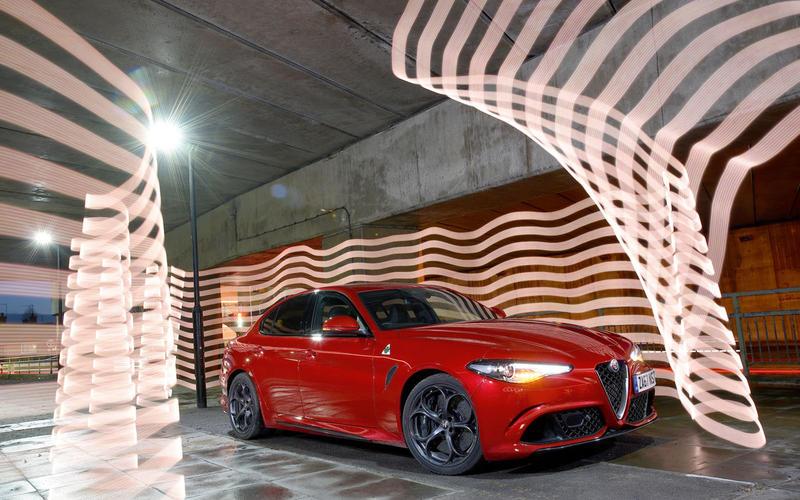 Alfa Romeo Giulia Quadrifoglio best sports car 2018