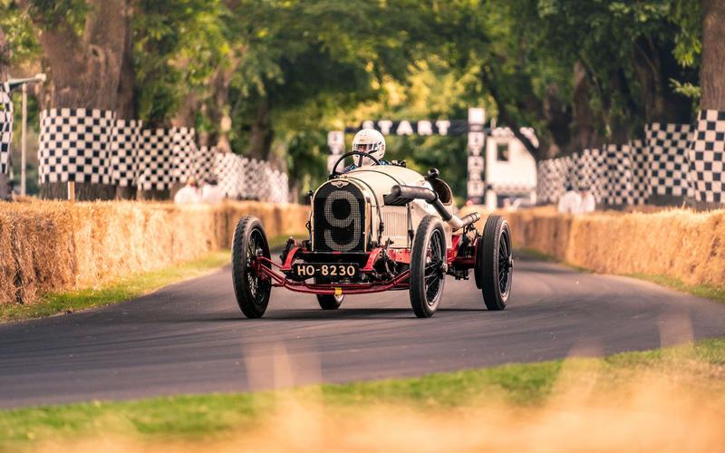 Bentley 3-Litre 'TT' at Goodwood Festival of Speed 2019