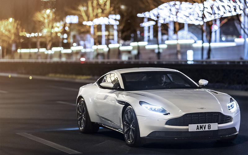 OCTOBER: Aston Martin DB11 V8