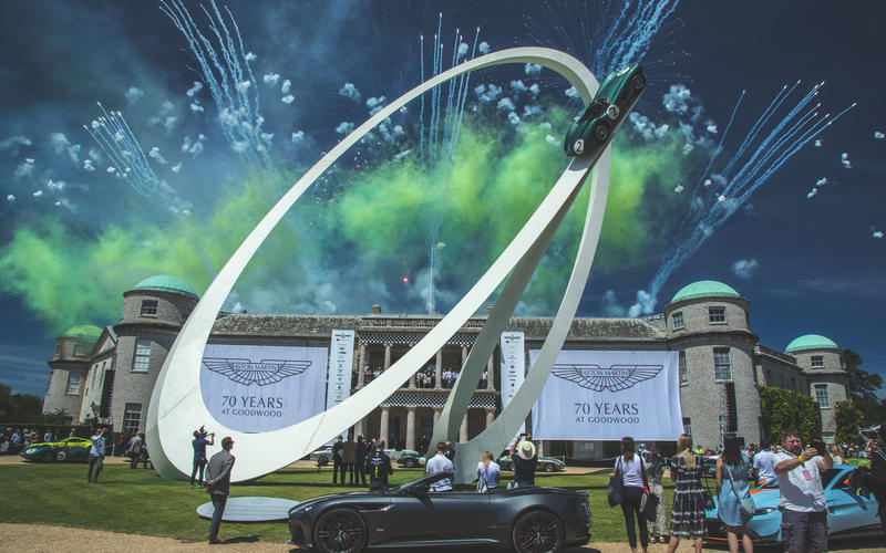 2019 marks 70 years since Aston Martin first made its Goodwood debut