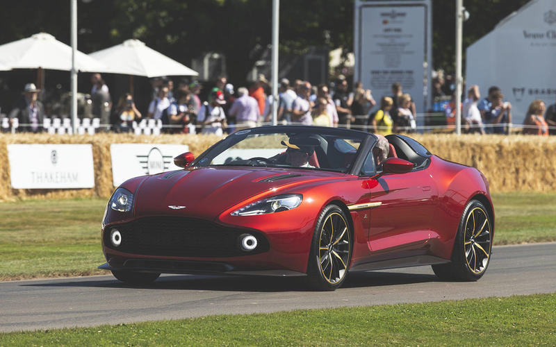 Goodwood Festival Of Speed 2019 The Best Of Aston Martin Autocar